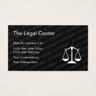 Cartão De Visitas Escritório de advogados do advogado