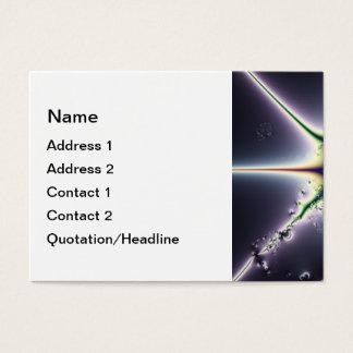 Cartão De Visitas Espaço roxo