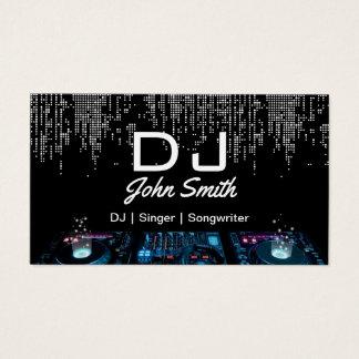 Cartão De Visitas Evento da música moderna do compositor do cantor