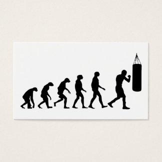 Cartão De Visitas Evolução do encaixotamento