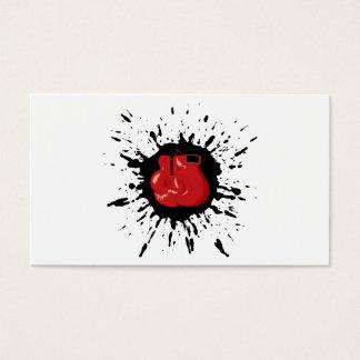 Cartão De Visitas Explosão do encaixotamento