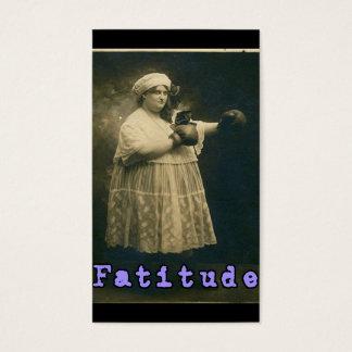 Cartão De Visitas Fatitude!
