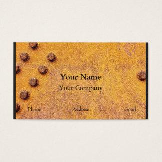 Cartão De Visitas Ferro