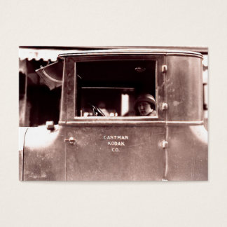 Cartão De Visitas Flapper nos anos 20 rujir de Lizzie da lata