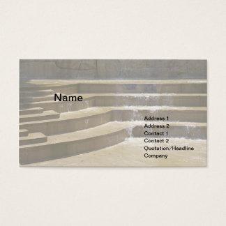 Cartão De Visitas fonte exterior simples