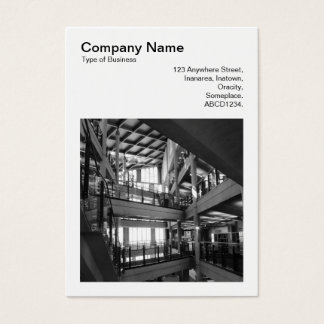 Cartão De Visitas Foto quadrada (v3) - arquitetura moderna