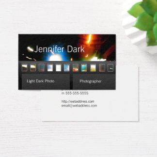 Cartão De Visitas Fotógrafo da foto do filme