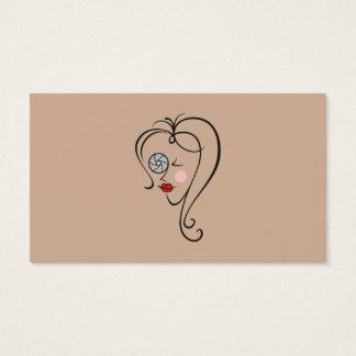 Cartão De Visitas Fotógrafo fêmea