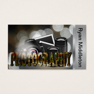 Cartão De Visitas Fotógrafo profissional