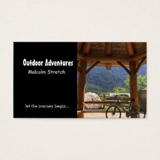 Cartão De Visitas Guia exterior da aventura