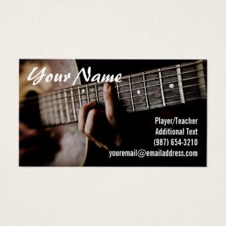Cartão De Visitas Guitarrista - professor - compositor - banda