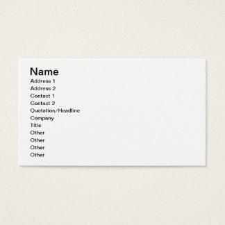 Cartão De Visitas Ideia das seções da suecia, da Noruega e da