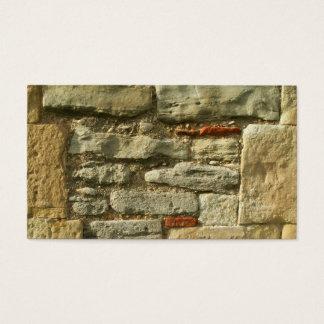 Cartão De Visitas Imagem da parede de pedra
