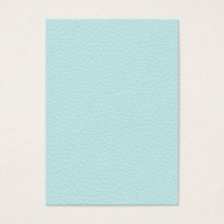 Cartão De Visitas Imagem do couro claro de turquesa