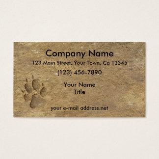 Cartão De Visitas Impressão do lobo