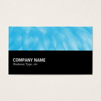 Cartão De Visitas Incompletamente 0112 - Curvas azuis