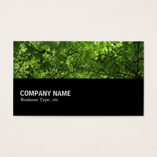Cartão De Visitas Incompletamente 0148 - Dossel da floresta