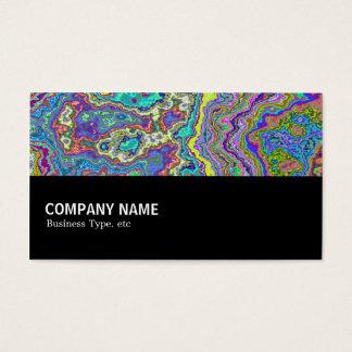 Cartão De Visitas Incompletamente 035 - Mineral colorido
