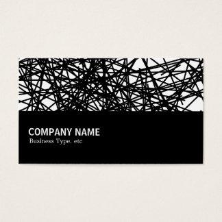 Cartão De Visitas Incompletamente 048 - Linhas aleatórias