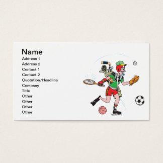Cartão De Visitas Jack de todos os comércios