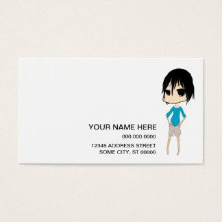 Cartão De Visitas layla triste: 2