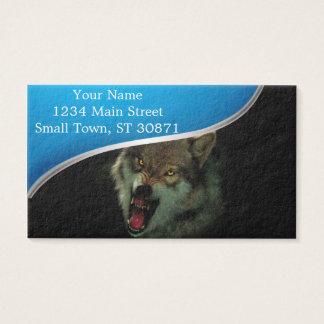Cartão De Visitas Lua do lobo