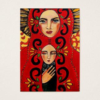 Cartão De Visitas madonna mexicano