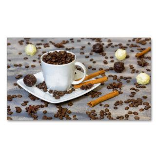 Cartão De Visitas Magnético Café e especiarias
