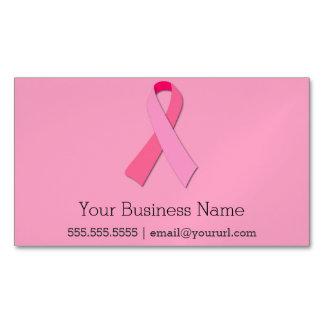 Cartão De Visitas Magnético Fita cor-de-rosa