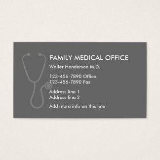 Cartão De Visitas Médico de família