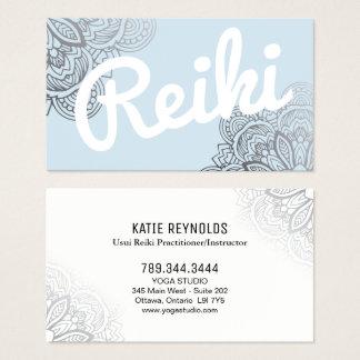 Cartão De Visitas Médico de Usui Reiki/cartão de visita do instrutor