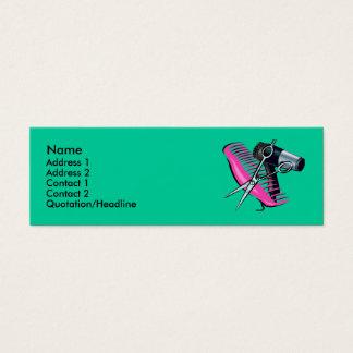 Cartão De Visitas Mini Cabeleireiro