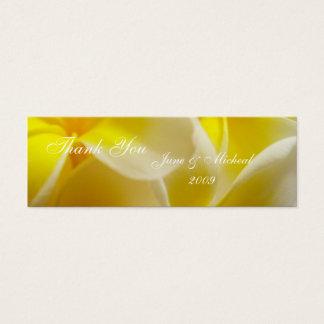 Cartão De Visitas Mini Casamento do verão