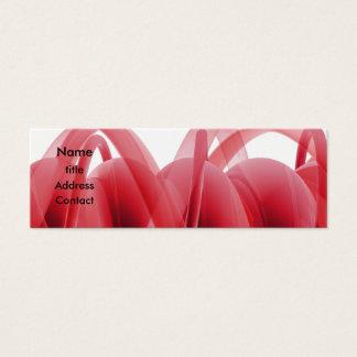 Cartão De Visitas Mini Design abstrato