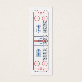 Cartão De Visitas Mini Design personalizado do diagrama da pista do