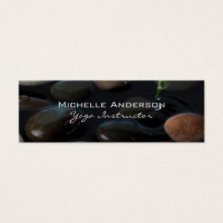 Cartão De Visitas Mini Pedras na lagoa