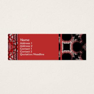 Cartão De Visitas Mini Saídas elegantes do corte da flor de papel grandes