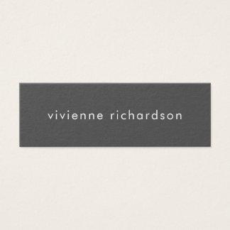 Cartão De Visitas Mini Trabalhos em rede minimalistas dos meios do Social