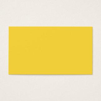 Cartão De Visitas Modelo personalizado cor da tendência do amarelo