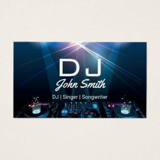Cartão De Visitas Música do profissional do compositor do cantor de