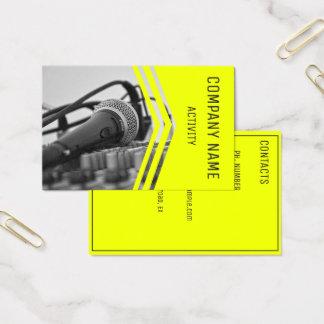 Cartão De Visitas Músico/engenheiro sadio/cantor