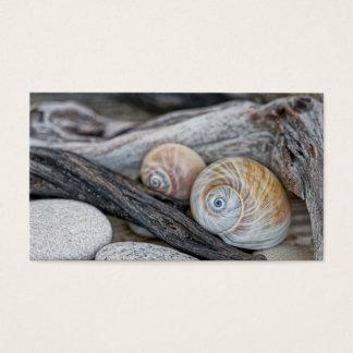 Cartão De Visitas Na praia