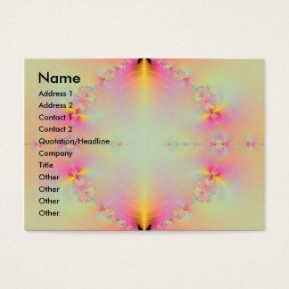 Cartão De Visitas Nascer do sol no paraíso