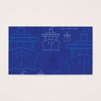 Cartão De Visitas Navio de cruzeiros