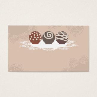 Cartão De Visitas negócio Ca do cozimento do fazer dos doces de
