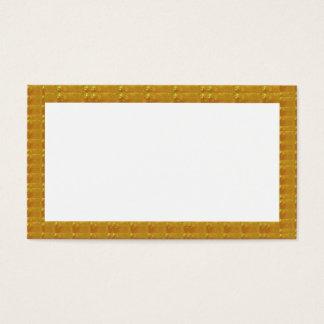 Cartão De Visitas Negócio de cristal dourado do DIVERTIMENTO do