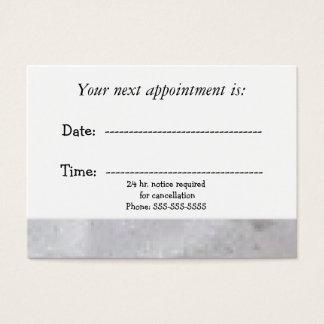 Cartão De Visitas Nomeação médica rústica