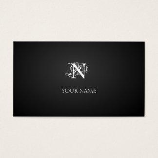 Cartão De Visitas Nouveau graphite