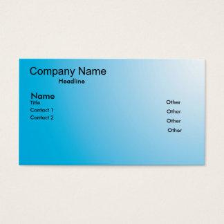 Cartão De Visitas o azul desvanece-se
