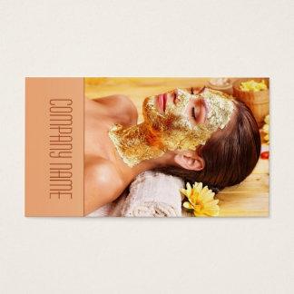 Cartão De Visitas O salão de beleza/massagem/relaxa/hotel dos TERMAS